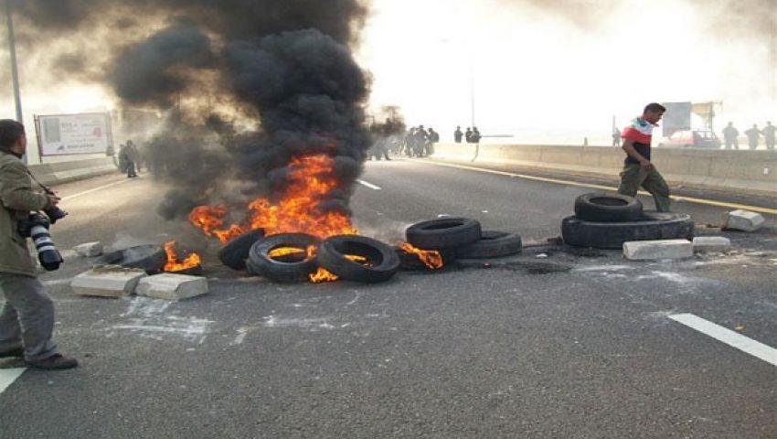 حبس 18 مؤيدًا لـ مرسي 15 يومًا لقطعهم الطريق الصحراوي