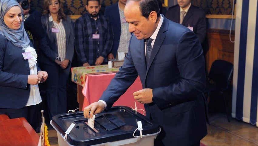 رغم فوز السيسي بالانتخابات .. العيون على الإقبال