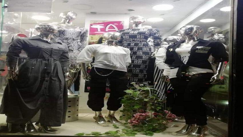 صور.. أعياد الأقباط وشم النسيم ورمضان ينعشون أسواق الملابس