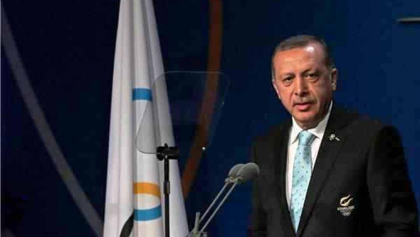 أردوغان : الأوليمبية الدولية تتجاهل العالم الإسلامي