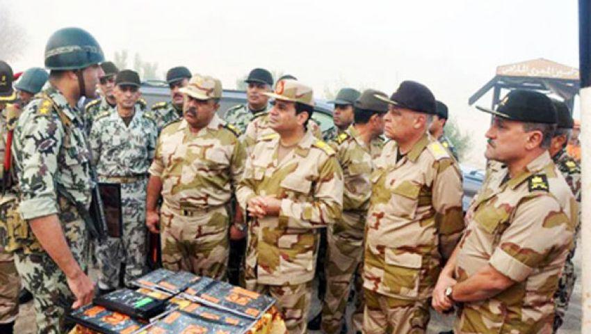 الجيش: لن نقبل الإساءة ونصطف خلف قيادتنا