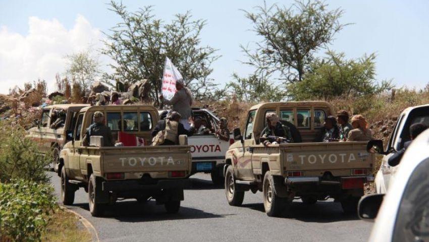 انسحاب الحوثيين من جبهة قتالية في مأرب شرقي اليمن