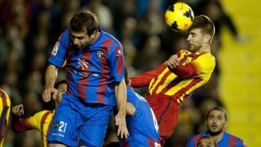 برشلونة يتحفز لمعاقبة ليفانتي في كأس أسبانيا