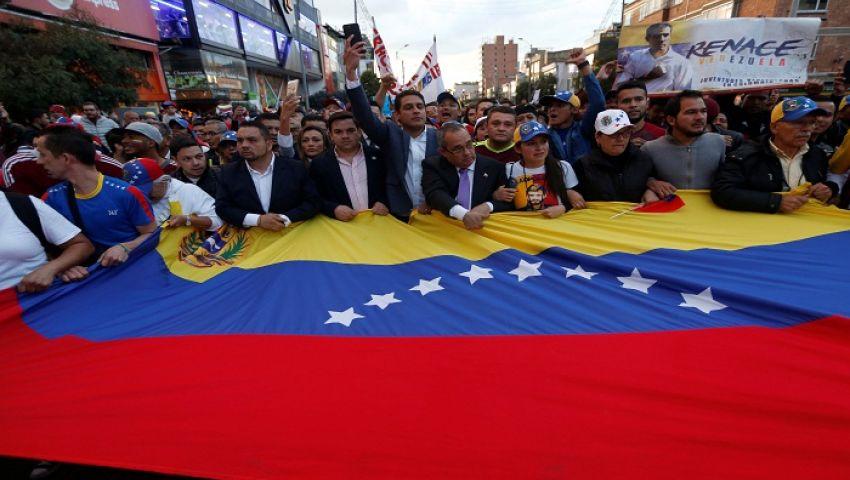 تطورات جديدة في أزمة المساعدات.. ماذا حدث على حدود فنزويلا - كولومبيا؟