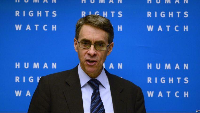 مدير «هيومن رايتس ووتش» يتضامن مع «مصر العربية»