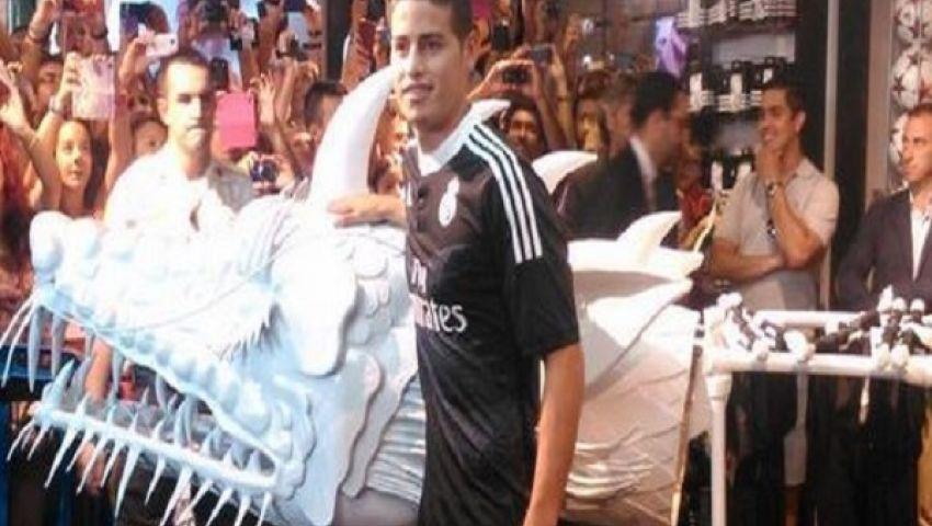رودريجيز: أتمنى الفوز بدوري الأبطال مع ريال مدريد
