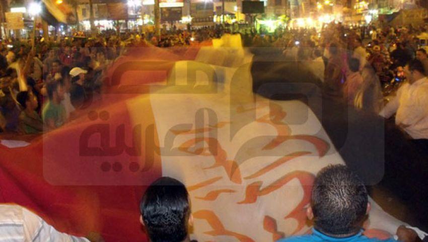 الآلاف من مؤيدي مرسي يجوبون شوارع بني سويف