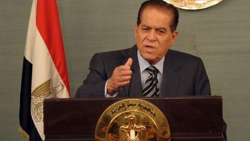 قرار بتكليف الجنزورى برئاسة الحكومة الانتقالية