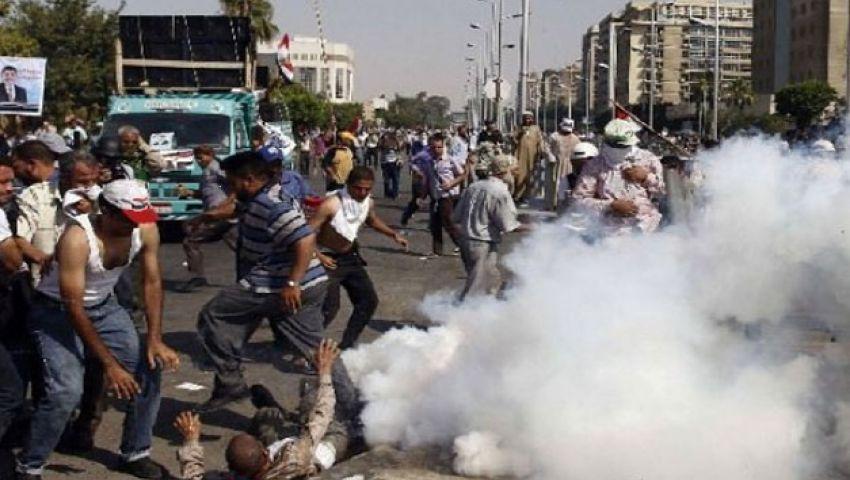 فيديو.. سقوط أول قتيل قرب رابعة برصاص قناصة