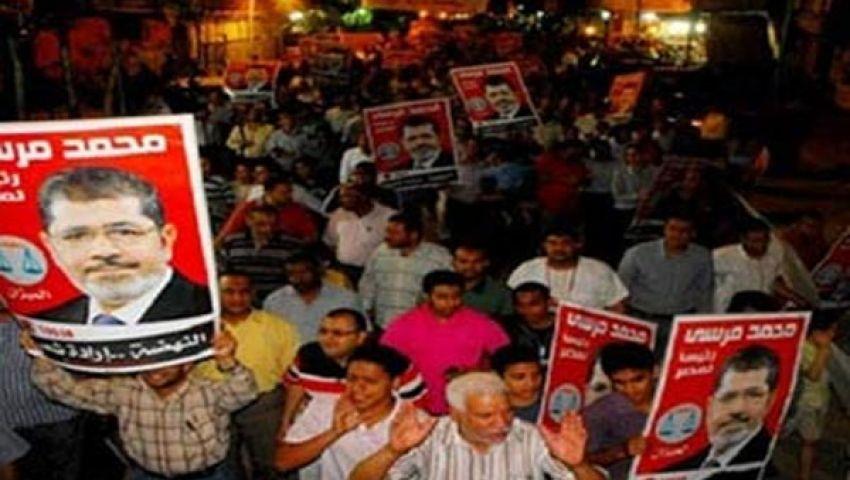 أنصار مرسي يغلقون نفق العروبة