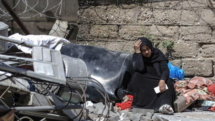 فيديو| الاحتلال يستهدف منازل الفلسطينيين.. هذا ما حدث في غزة