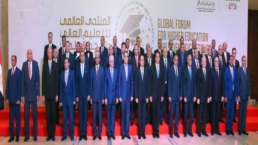 توأمة مع المؤسسات الدولية.. تفاصيل اجتماع «السيسي» مع المجلس الأعلى للجامعات