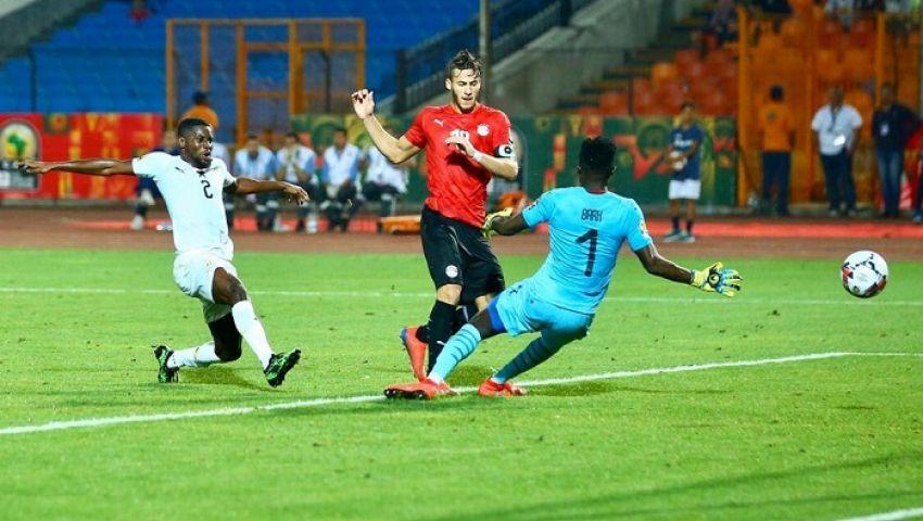 رمضان صبحي «رجل» مباراة مصر وغانا بأمم أفريقيا