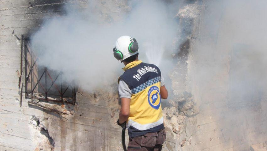 يوم دام في إدلب.. براميل الأسد تحرق المدنيين