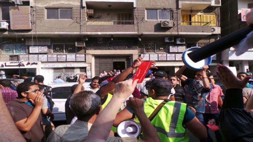 لجان شعبية من اعتصام القبة لتأمين المسيرات