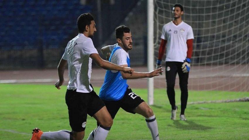 تفاصيل إصابة الونش في مران المنتخب