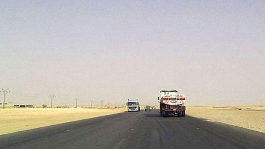 وزير النقل يتفقد الطريق البري الجديد مع السودان