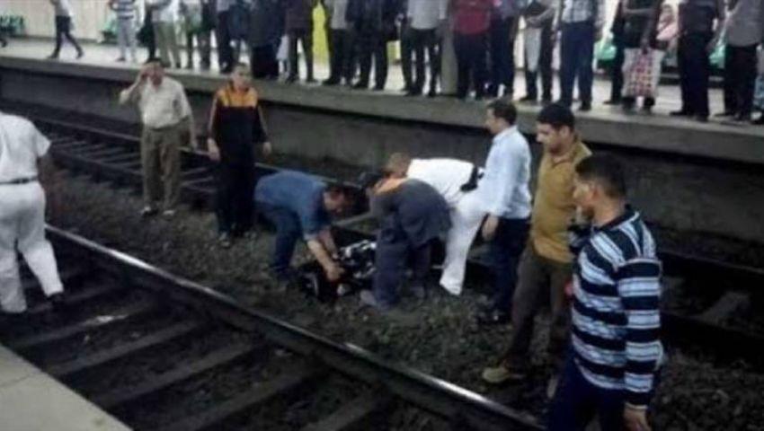 حالة انتحار جديدة تحت عجلات«المترو» في جامعة القاهرة
