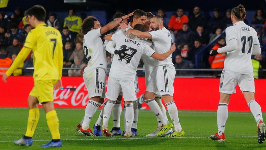 ريال مدريد ضد فياريال.. زيدان يحشد قوته الضاربة لحسم لقب الليجا غدًا