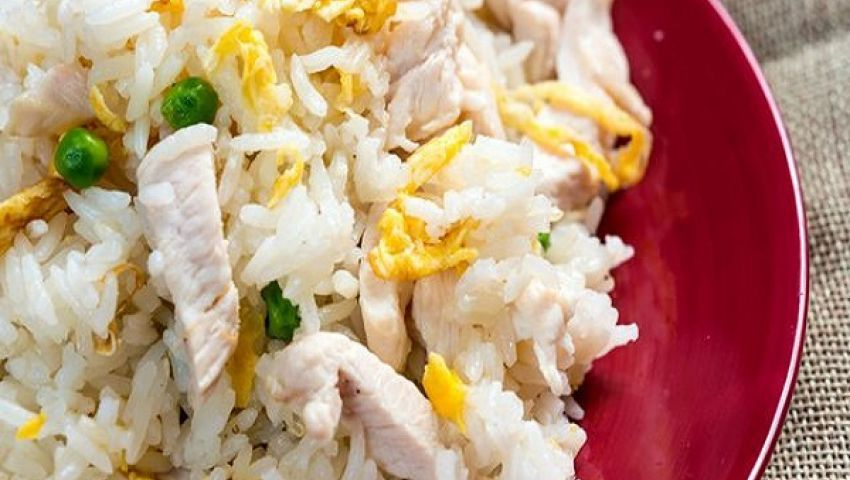 طريقة عمل الرز بالبيض