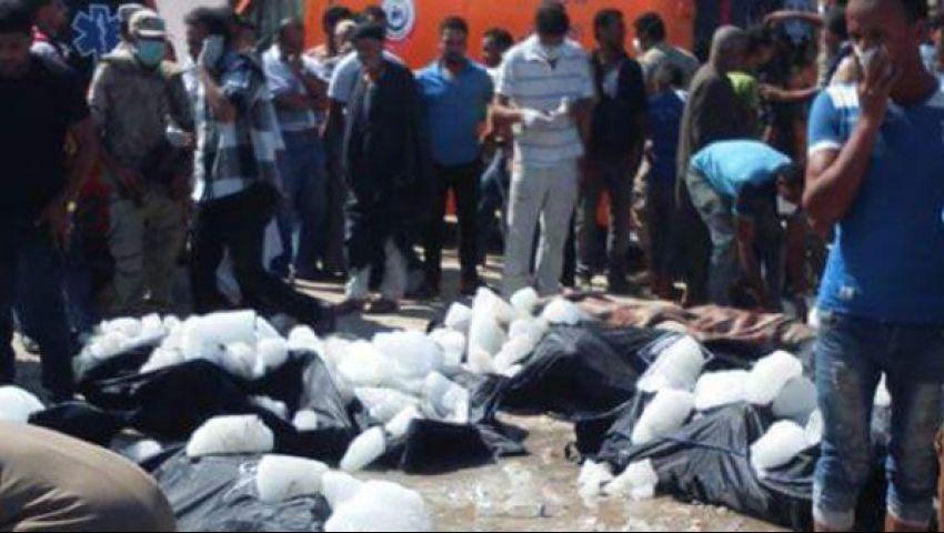 وزيرة الهجرة: حادث غرق مركب رشيد هز جميع مؤسسات الدولة