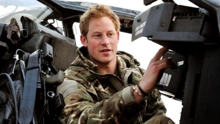الأمير هاري مؤهلاً لقيادة مروحية أباتشي