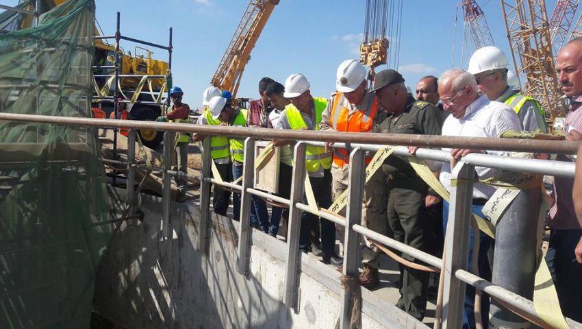 تنفيذ 12 % من أعمال حفر أنفاق قناة السويس بالإسماعيلية
