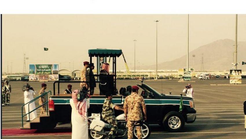 ولي العهد السعودي يستعرض جاهزية القوات الأمنية لتأمين الحج