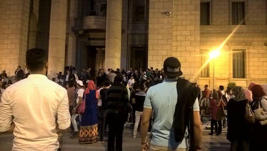 أمن القاهرة يسمح لأعضاء هيئة التدريس دخول حفل آمال ماهر