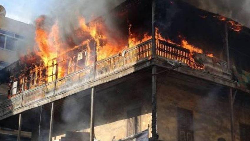 ماس كهربائي يتسبب في حريق 3 منازل بسوهاج