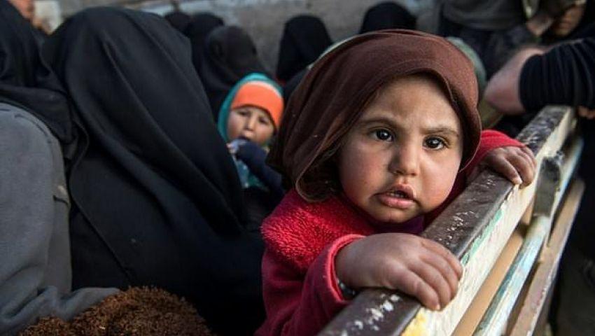 «الفرنسية»: في شرق سوريا.. أطفال «خلافة» متداعية