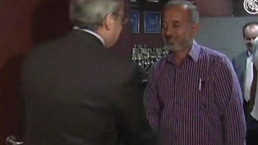 شاهد.. مدرب سوري لاجيء يحقق أمنيته بزيارة ريال مدريد