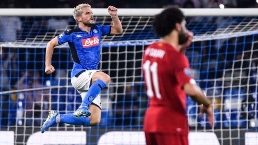 فيديو  ليفربول يسقط أمام نابولي في مباراة الفرص الضائعة