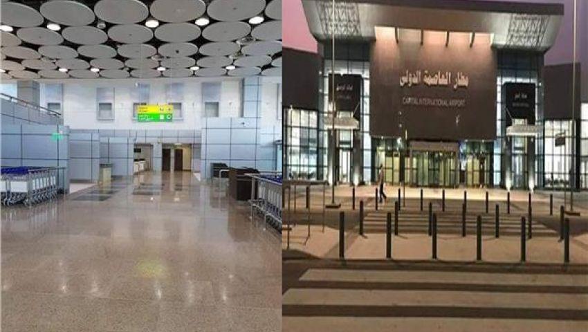 فيديو  بعد افتتاحه.. 10 معلومات عن مطار العاصمة الإدارية الجديد