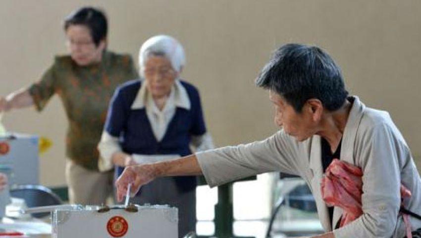 الحزب الحاكم يعزز سلطته في اليابان