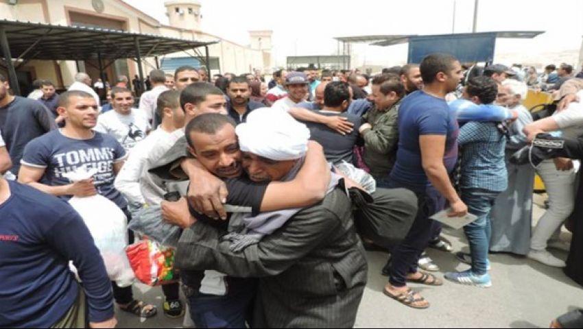 فيديو| الفرق بين العفو الرئاسي والشرطى والصحي فى السجون المصرية