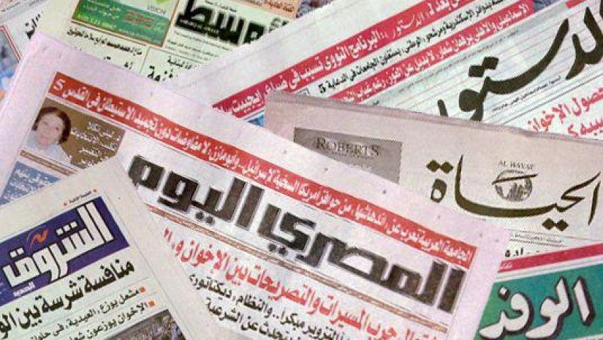 صحافة اليوم: النور يطالب الأزهر بإبقاء المادة219..وتخفيض الحظر