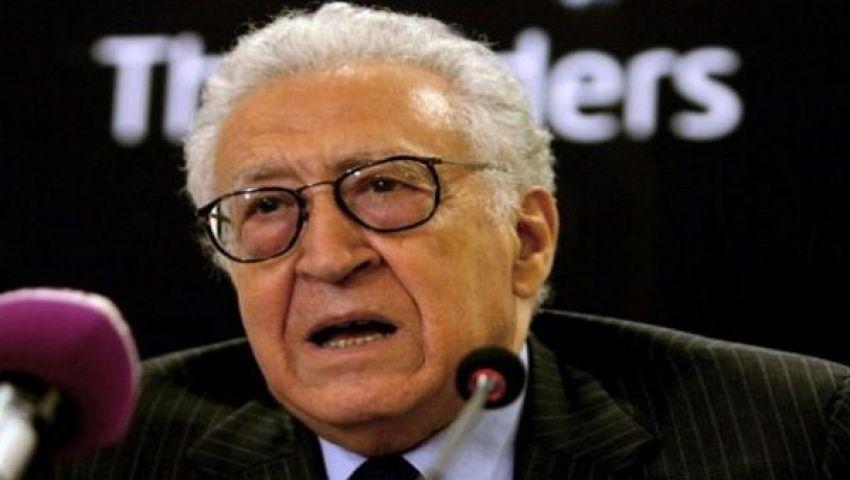 الإبراهيمي في القاهرة للتحضير لمؤتمر جنيف 2