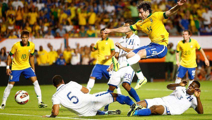 فيديو..البرازيل تكتسح هندوراس بالخمسة