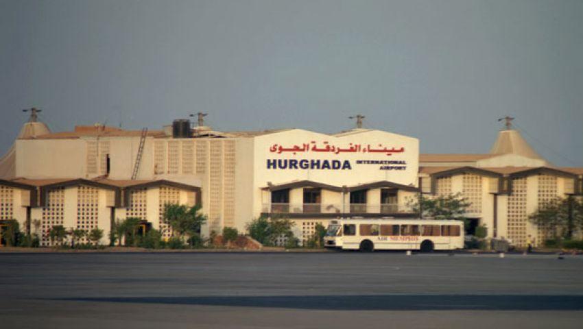 مطار الغردقة يستقبل 13ألفًا و800 سائح