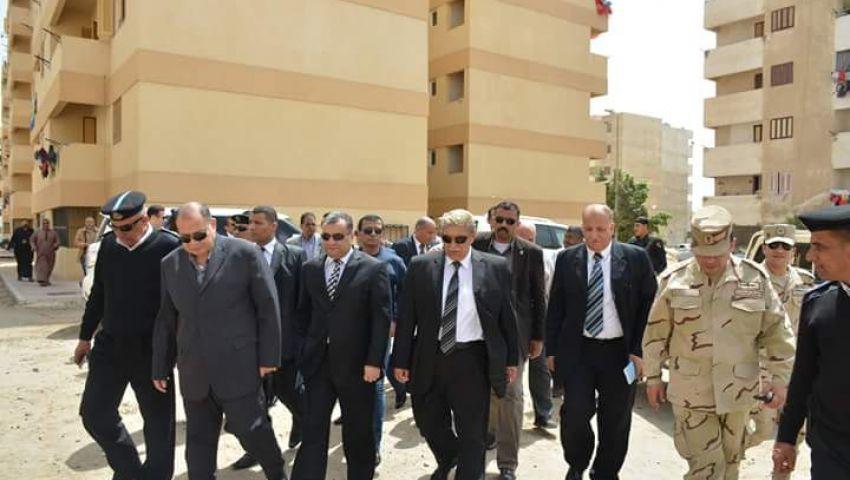 دوريات ثابتة ومتحركة لحماية نازحي سيناءبالإسماعيلية