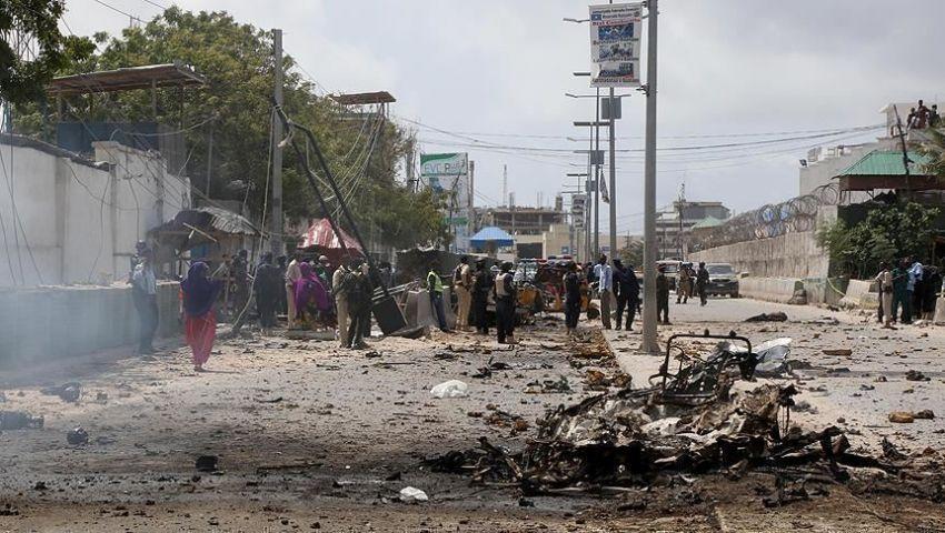 فيديو   هجوم انتحاري بالصومال.. قتلى وجرحى بينهم مسؤول حكومي