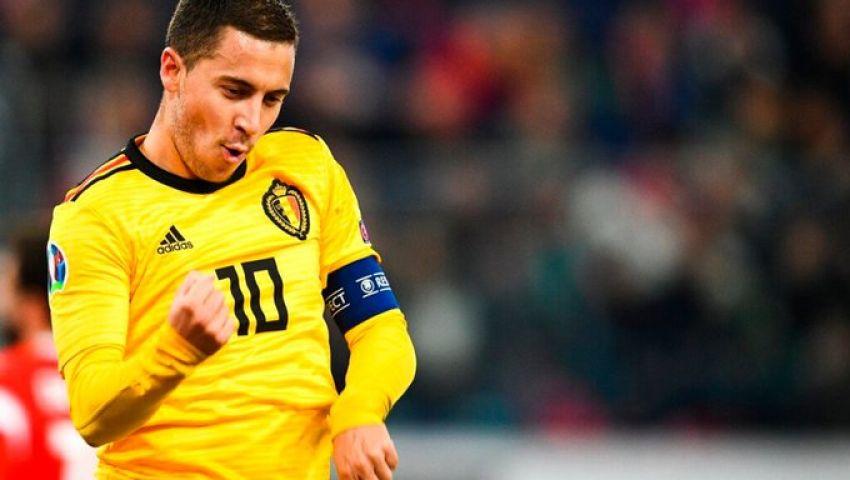 فيديو|هازارد يتألق.. بلجيكا تواصل انتصاراتها في تصفيات يورو 2020