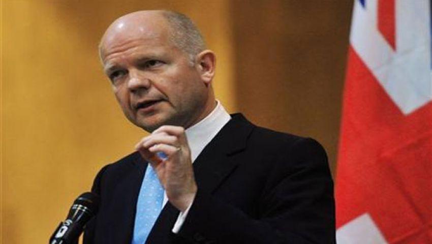 هيج يتعهد بحماية أمن بريطانيا من خطر مسلحي سوريا