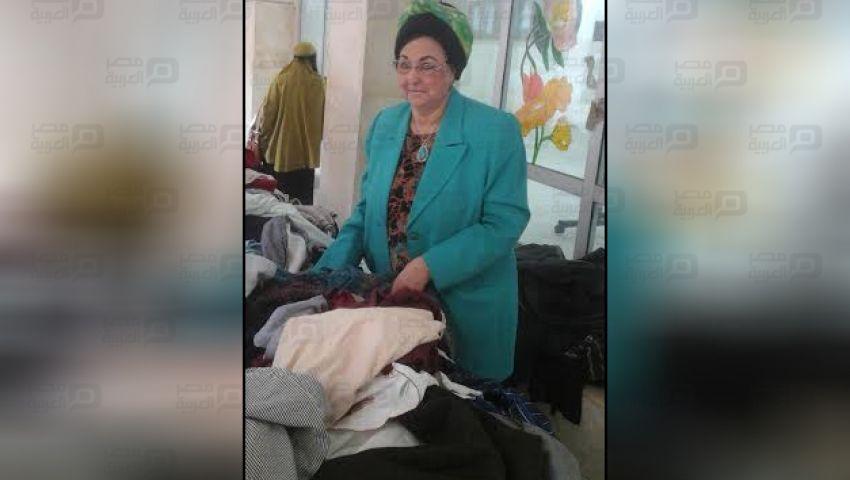بالصور.. معرض خيرى للملابس المستعملة بجامعة الأزهر