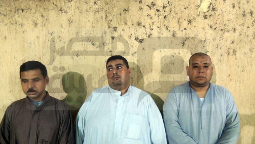 القبض على المتهمين بحرق محافظة الجيزة