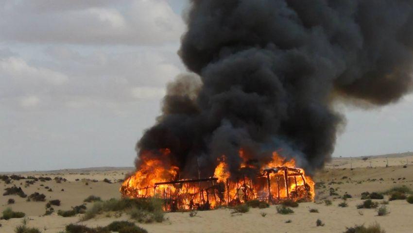 مقتل 3 والقبض على 8 في حملة أمنية بشمال سيناء
