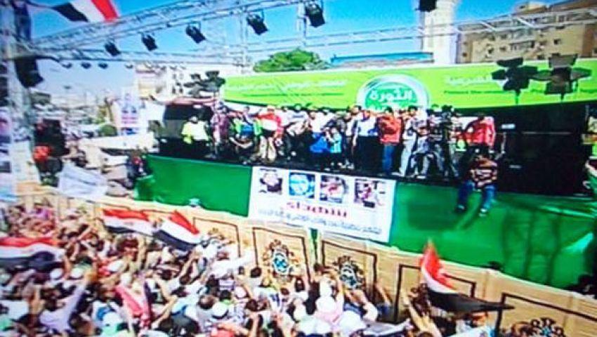 شهادات مصابي الحرس الجمهوري على منصة رابعة اليوم