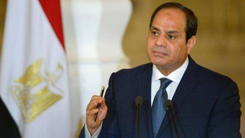 ماذا قال الرئيس السيسي عن حادث حريق محطة مصر؟