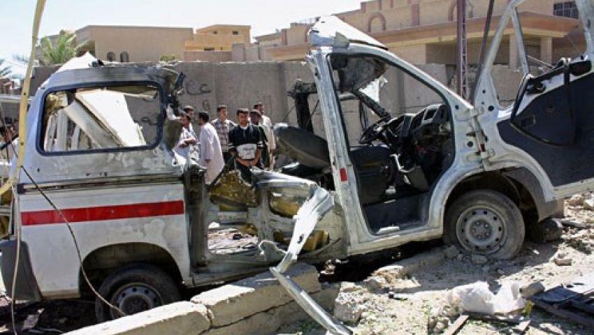 الاحتلال يخترق التهدئة باستهداف سيارات الإسعاف في خزاعة